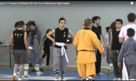 Kung Fu. Il monaco di Shaolin Shi Yan Hui a Matera per degli stages