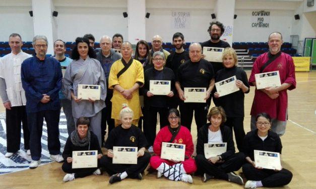 Gli ultimi aggiornamenti della scuola Shaolin Firenze!