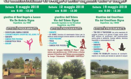 Sport all'aria aperta – comune di Signa (Fi)