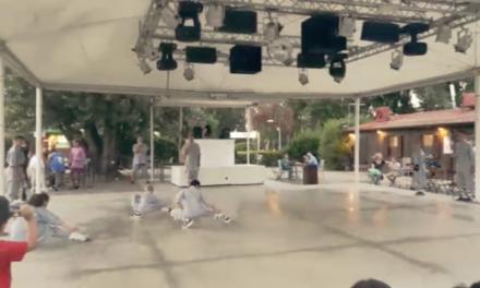 Dimostrazione dei ragazzi dello Shaolin Quan Fa Firenze