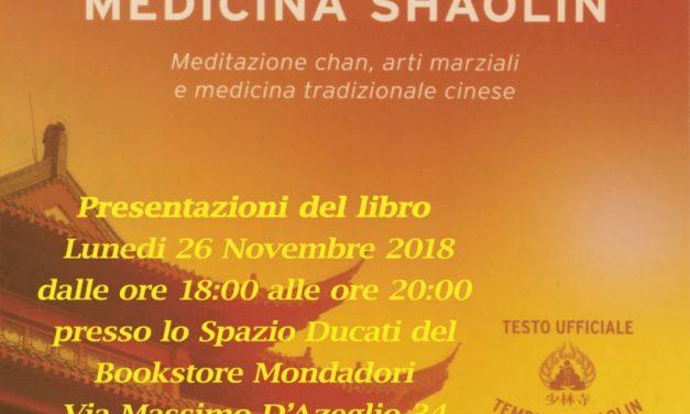 """Presentazione del libro """"La Via della Medicina Shaolin"""""""