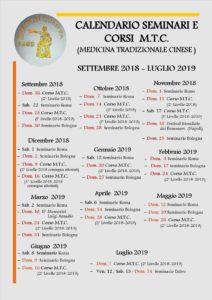 calendario stage e seminari kung fu 2019