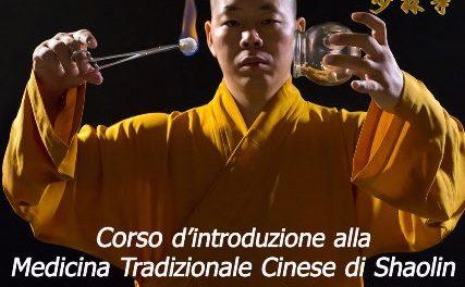 Avvicinarsi con un corso alla medicina tradizionale cinese Shaolin: si parte il 7 aprile