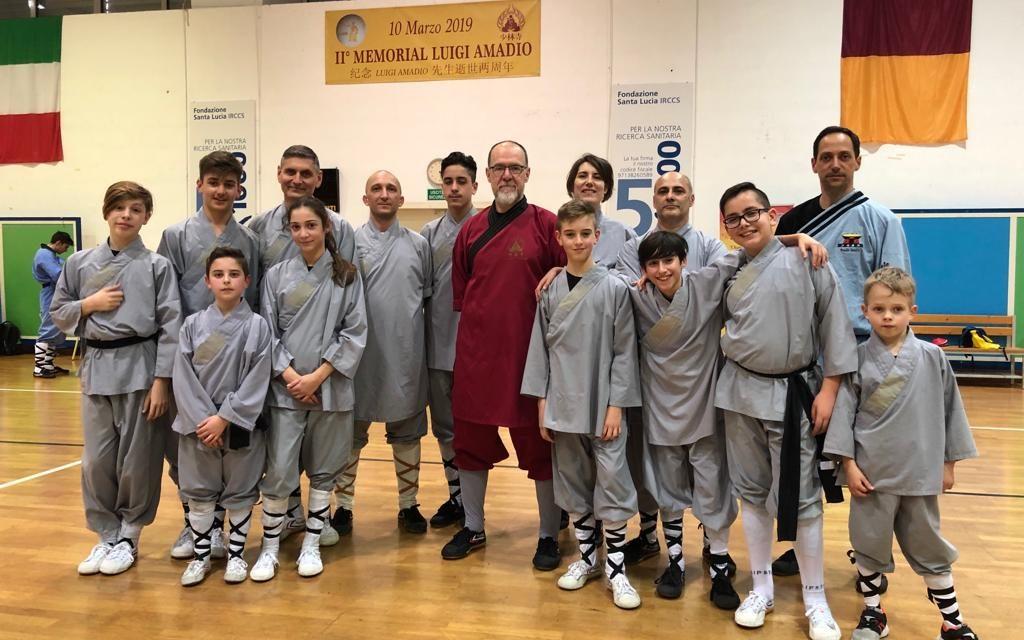 2° Memorial Luigi Amadio – Gare di Kung Fu Shaolin tradizionale a Roma
