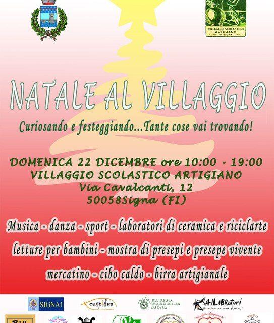 """""""Natale al Villaggio"""" domenica 22 dicembre!"""