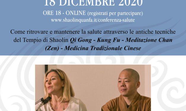 Conferenza per la salute – Online